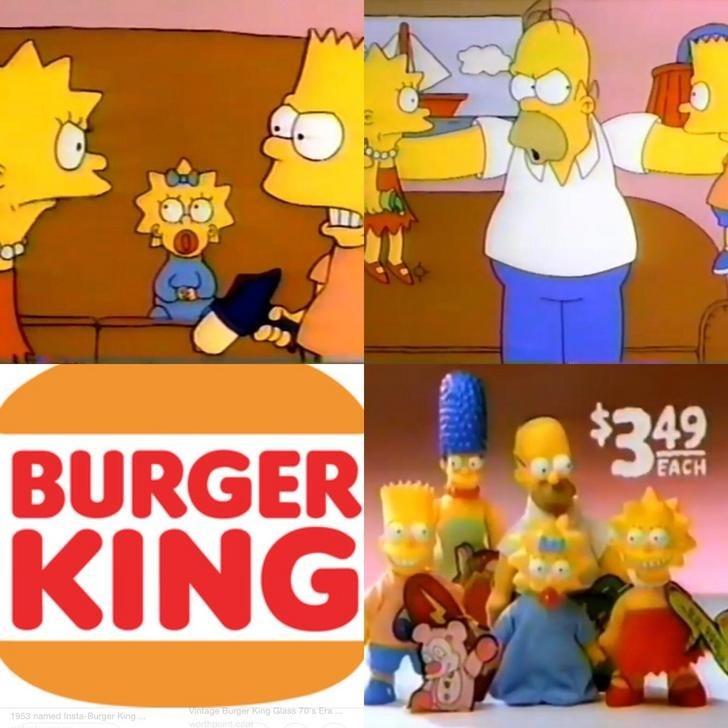 Cartoon - $342 BURGER KING EACH 1953 named Insta-Burger King Viage Burger King ss 70 E