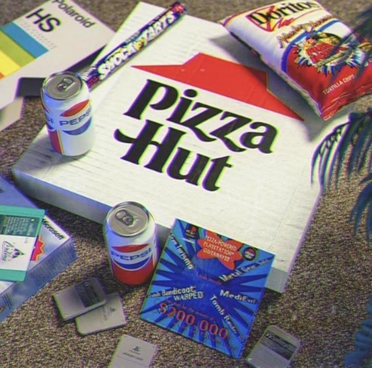 Snack - blaroid HS TOATILLA CHIPS Pizza Hut SHOCAFARTS PEPS PIZZAFONDD PLATSTATION GOEANAY Werosoft Metal C BBandicaat WABPED MediEv $200.000 Tomb Raider mTurismo line