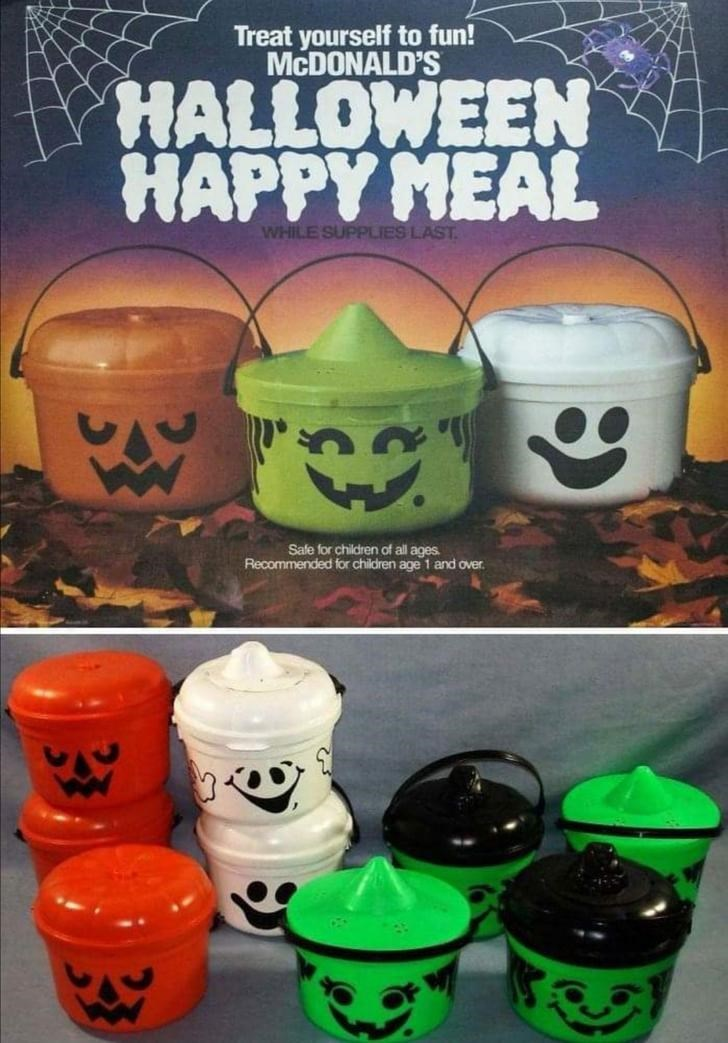 Cup - Treat yourself to fun! MCDONALD'S HALLOWEEN HAPPY MEAL WHILE SUPPLIES LAST. Safe for children of all ages. Recommended for children age 1 and over.