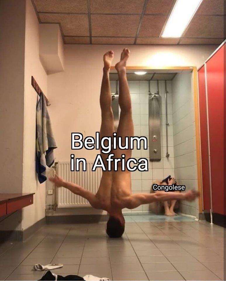 Leg - Belgium in Africa Congolese