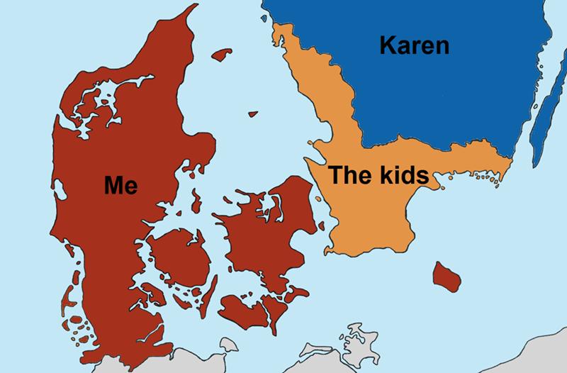 Map - Karen The kids Me