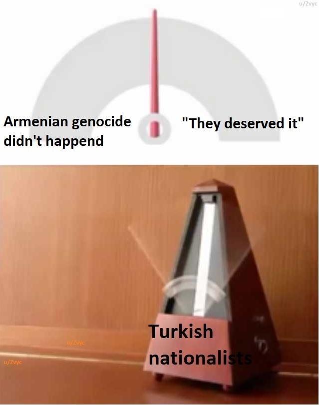 "Cone - u/Zvyc Armenian genocide didn't happend ""They deserved it"" Turkish nationalists u/zvyc"
