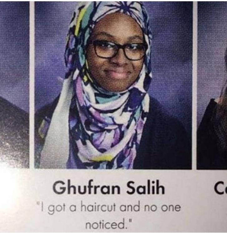 "Eyewear - Ghufran Salih ""I got a haircut and no one Co noticed."""