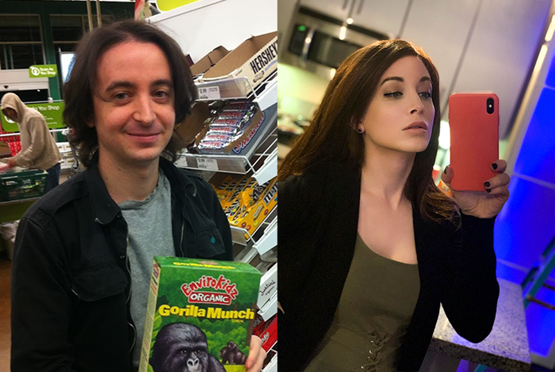 Brown hair - ou Shop HERSHEY YORGANIC Gorilla Munch Juatini