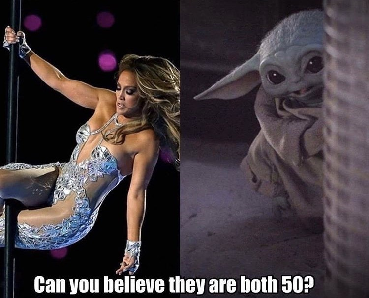 Pole dance - Can you believe they are both 50?