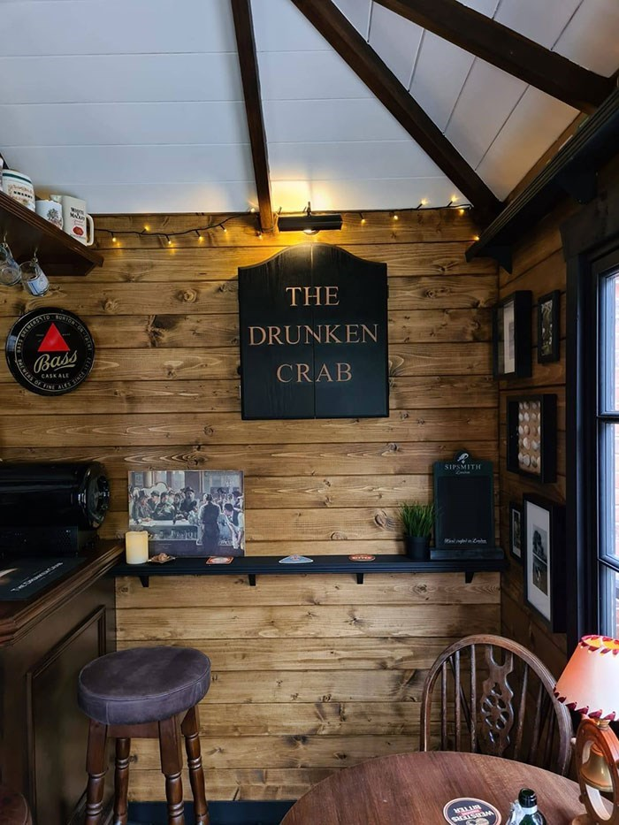 Room - THE DRUNKEN Bass CRAB CASK ALE SIPSMITH