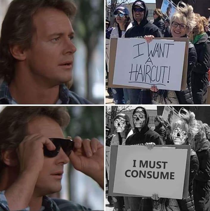 People - I WANT HARCUT! I MUST CONSUME