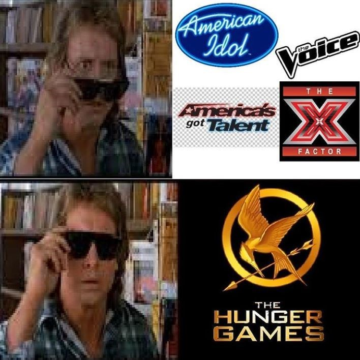 Eyewear - American Idol Voice THE America's got Talent FACTOR THE HUNGER GAMES