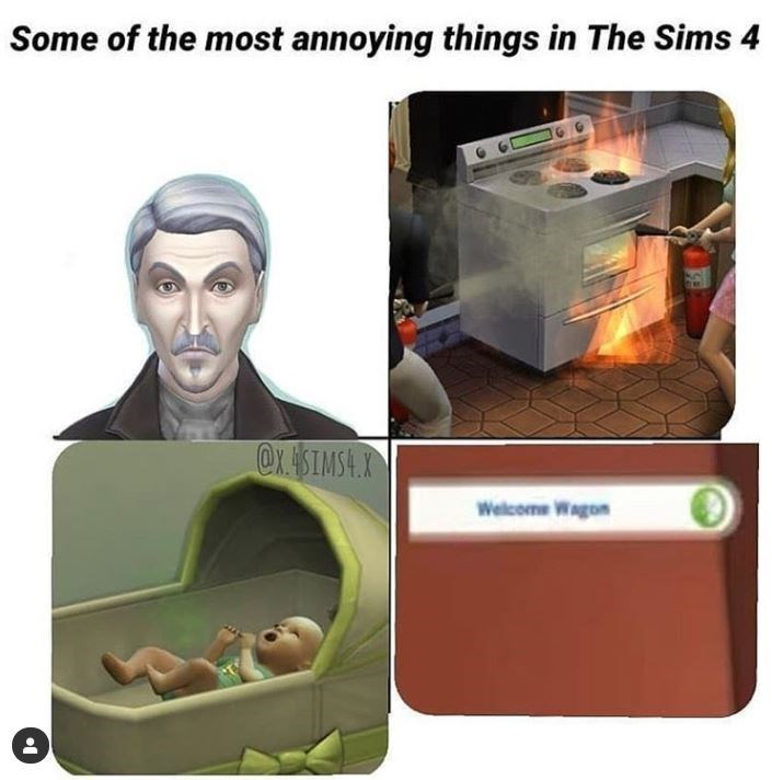 Product - Some of the most annoying things in The Sims 4 @X. SIMSA.X Welcome Wagon
