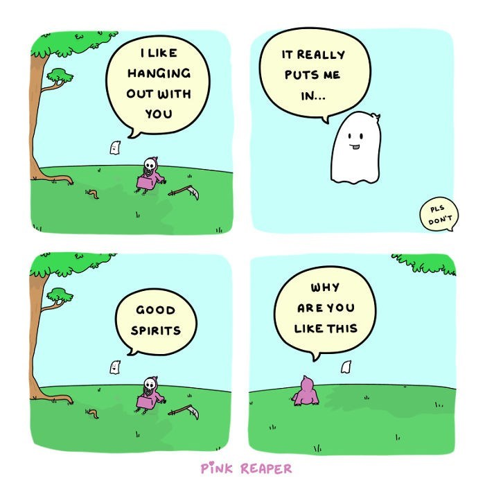 Green - I LIKE IT REALLY HANGING PUTS ME OUT WITH IN... YOU PLS DON'T WHY GOOD ARE YOU SPIRITS LIKE THIS PINK REAPER