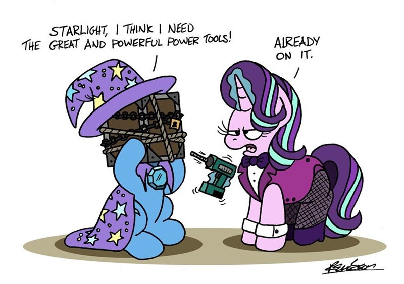 the great and powerful trixie bob the dalek starlight glimmer puns - 9505780992