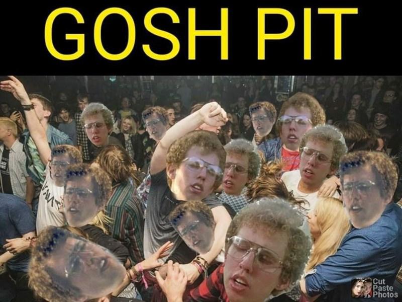 People - GOSH PIT Cut Paste Photos