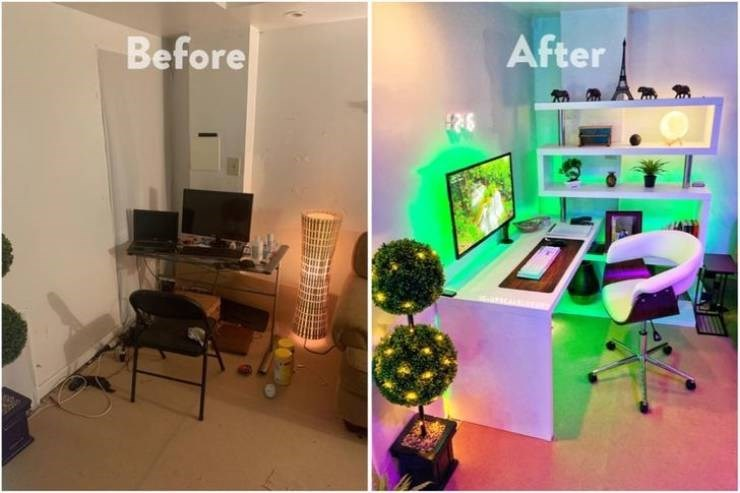 Room - Before After