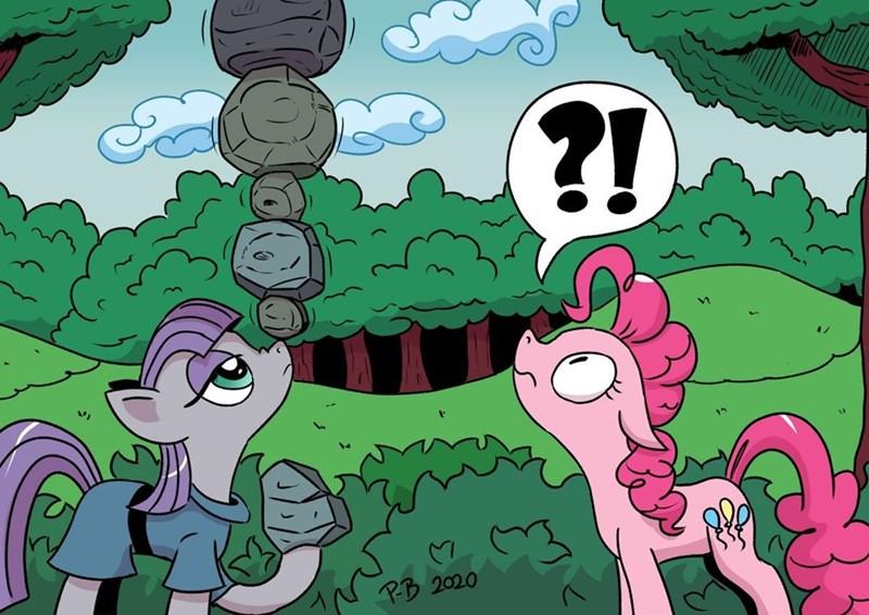 pony-berserker pinkie pie maud pie - 9507359232
