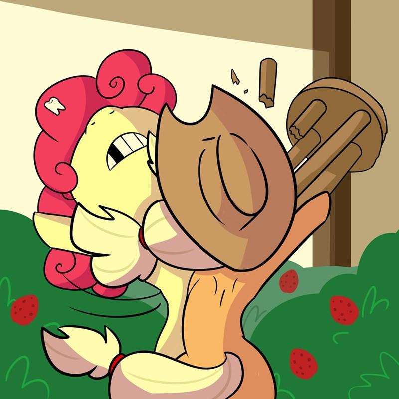 applejack tj pones strawberry sunrise - 9507360512
