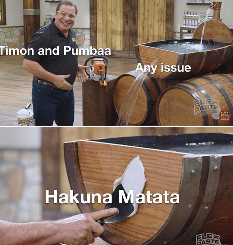 Product - Timon and Pumbaa Any issue ELEDR PASTE Hakuna Matata ELEX FASTE