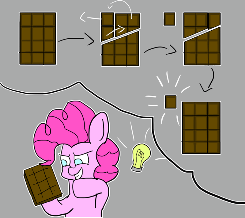zeronixma infinite chocolate bar trick pinkie pie Memes - 9508404480