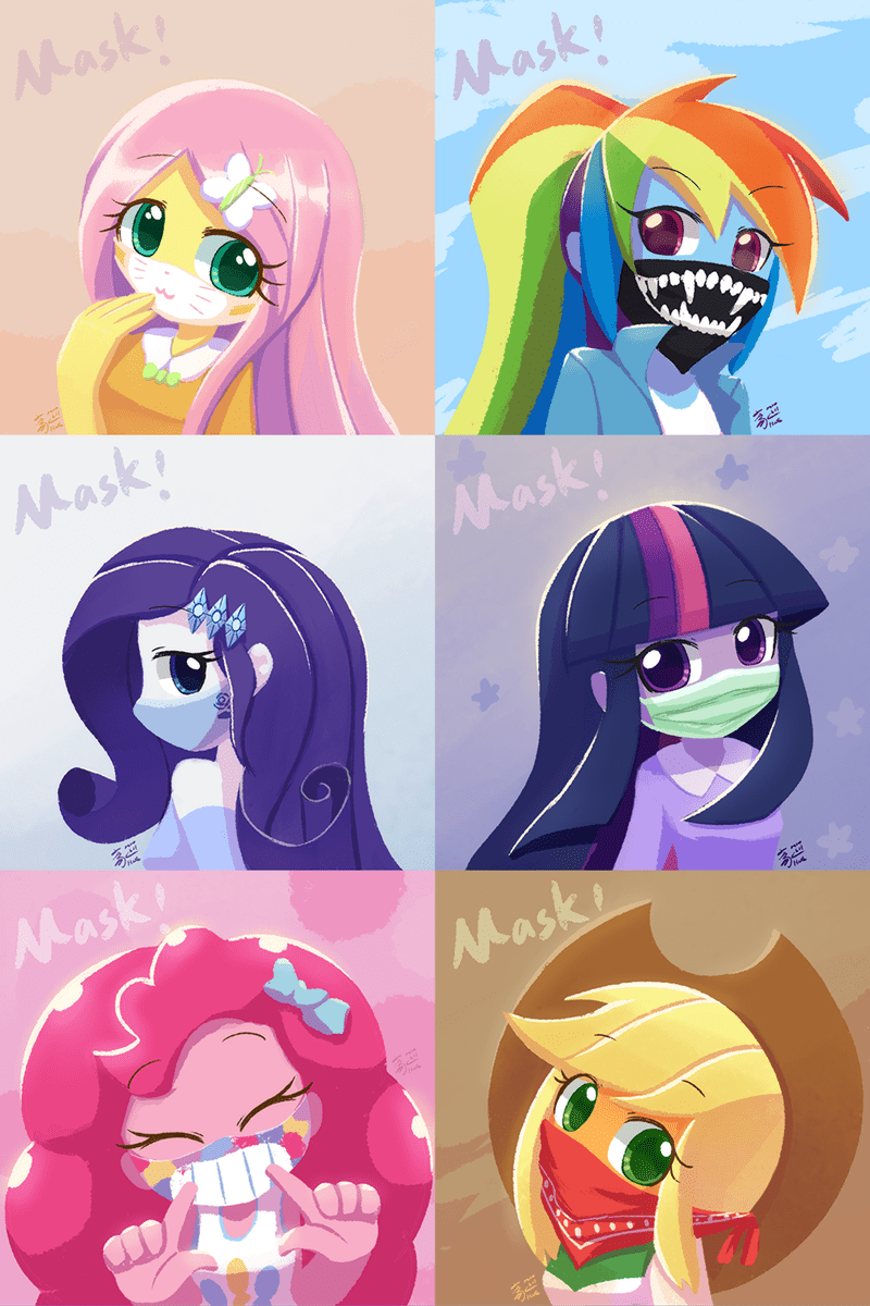 how xu applejack equestria girls twilight sparkle pinkie pie rarity fluttershy rainbow dash - 9508690176