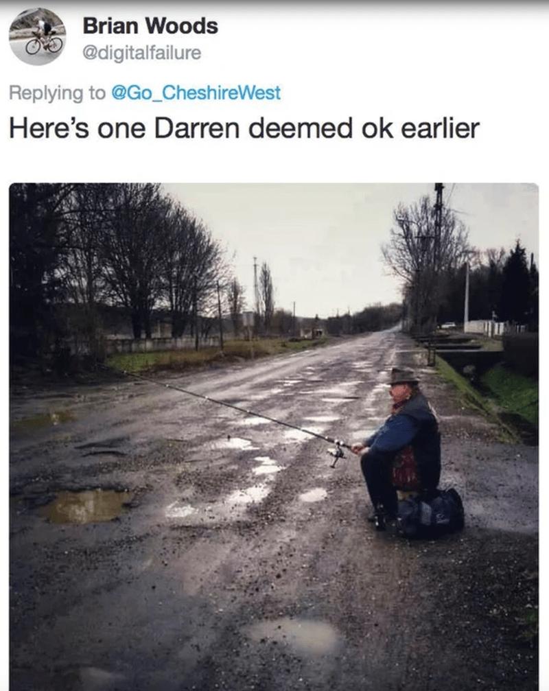Asphalt - Brian Woods @digitalfailure Replying to @Go_CheshireWest Here's one Darren deemed ok earlier
