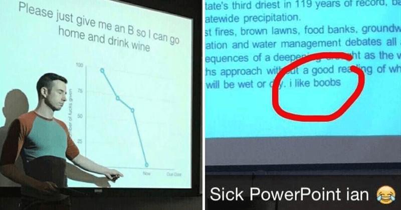 funny school presentations
