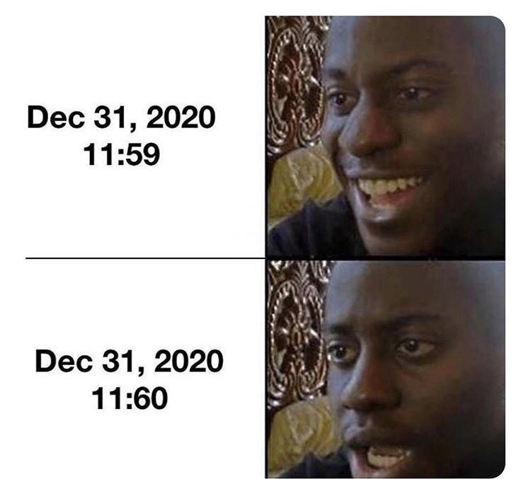Face - Dec 31, 2020 11:59 Dec 31, 2020 11:60
