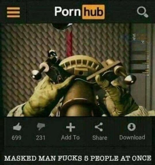 Action-adventure game - Porn hub + < 699 231 Add To Share Download MASKED MAN FUCKS 5 PEOPLE AT ONCE II