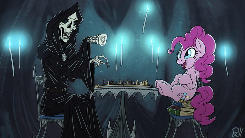 anniversary grim reaper pinkie pie pirill-poveniy MLB - 9510189056