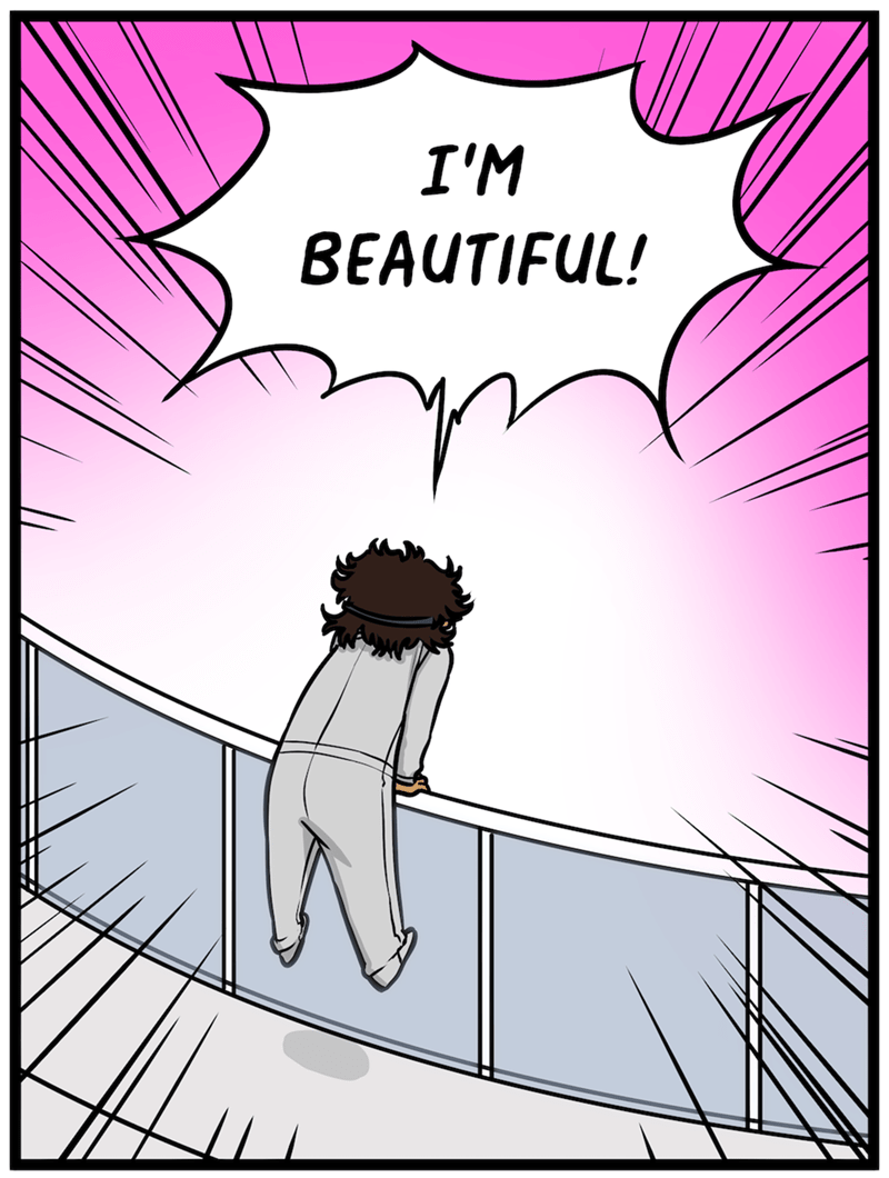 Cartoon - I'M BEAUTIFUL!