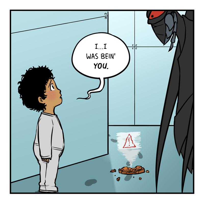 Cartoon - Cartoon - I...I WAS BEIN' YOU.