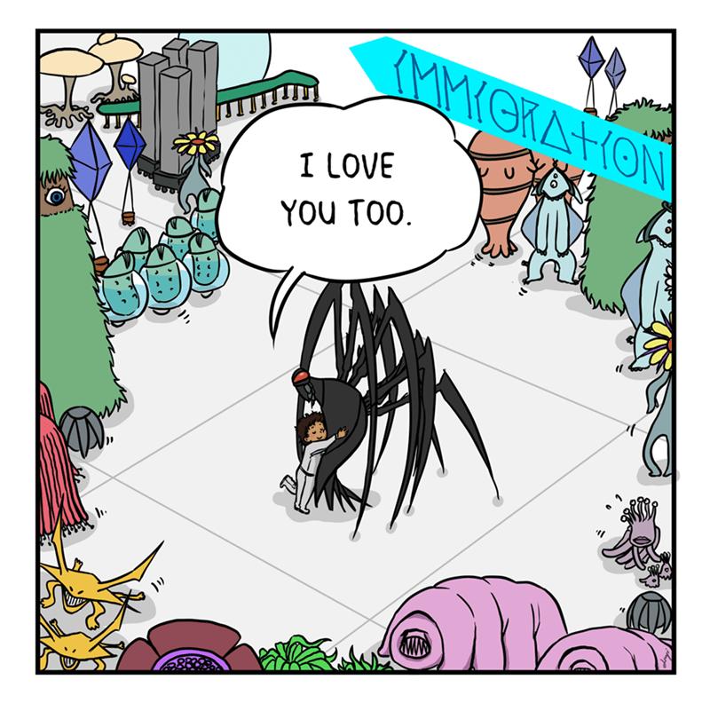 Cartoon - Cartoon - (MMYOKATION I LOVE YOU TOO.
