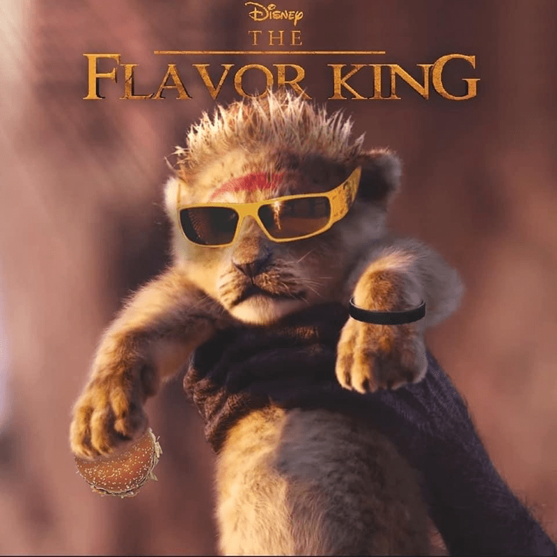 Album cover - DISNEY THE FLAVOR KING