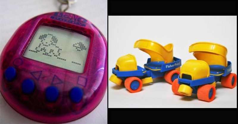 Funny and nostalgic pictures of products from the '90s