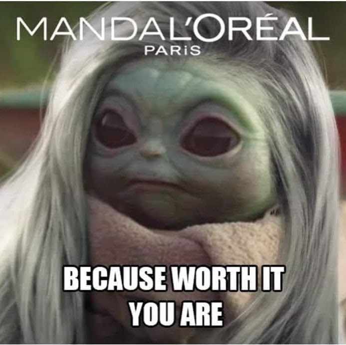 Facial expression - MANDAL'ORÉAL PARIS BECAUSE WORTH IT YOU ARE
