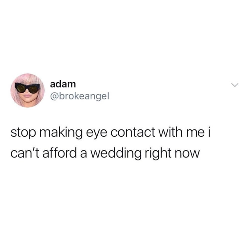 Eyewear - adam @brokeangel stop making eye contact with me i can't afford a wedding right now
