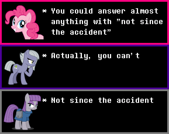 incorrect my little pony quotes limestone pie pinkie pie maud pie - 9512636416