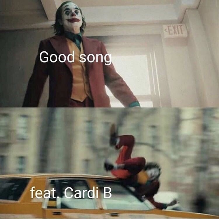 Fictional character - EXIT Good song feat, Cardi B