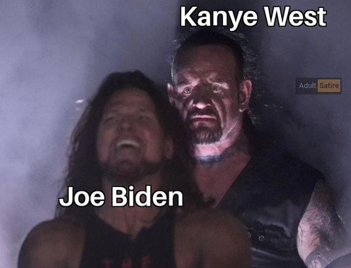 Human - Kanye West Adult Satire Joe Biden