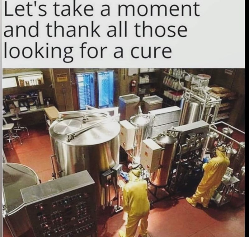 Product - Let's take a moment and thank all those looking for a cure