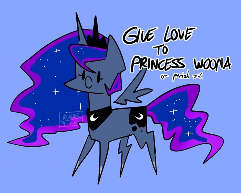 princess luna riukime - 9514338560