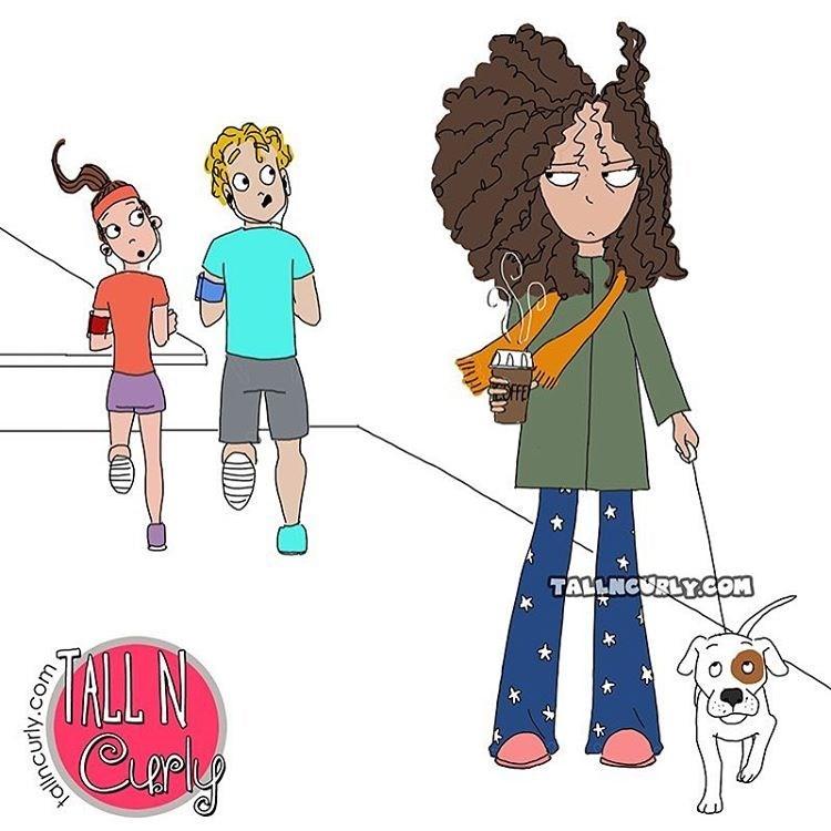 Cartoon - TALLNCURLY.COM TALL N tallncurly.com s