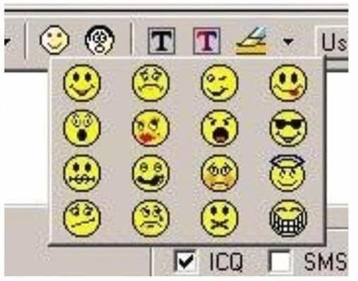 Emoticon - 国1,Us ICO SMS 0にX) 80