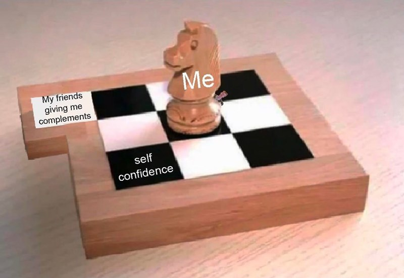 Games - Me My friends giving me complements self confidence