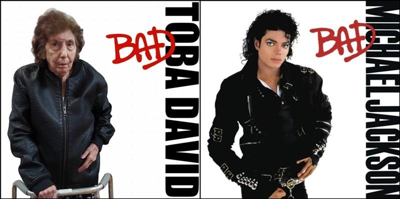 Album cover - BAT BA MICHALELJACKSON ED TOBA DAVID