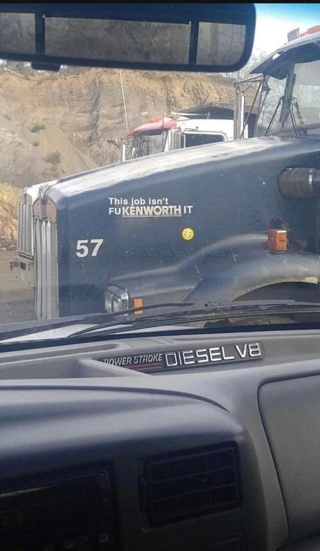 Vehicle - This job isn't FUKÉNWORTH IT 57 DOWER STROKE ESELVE 216