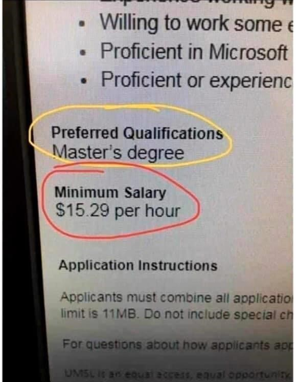 Text - Willing to work some e • Proficient in Microsoft Proficient or experienc Preferred Qualifications Master's degree Minimum Salary $15.29 per hour Application Instructions Applicants must combine all applicatio limit is 11MB. Do not include special ch For questions about how appiicants app UMSL it an eQual access, eaval opportunity