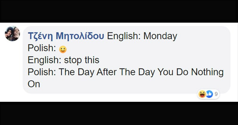 Funny Facebook posts that demonstrate how strange translations from English into other languages can be