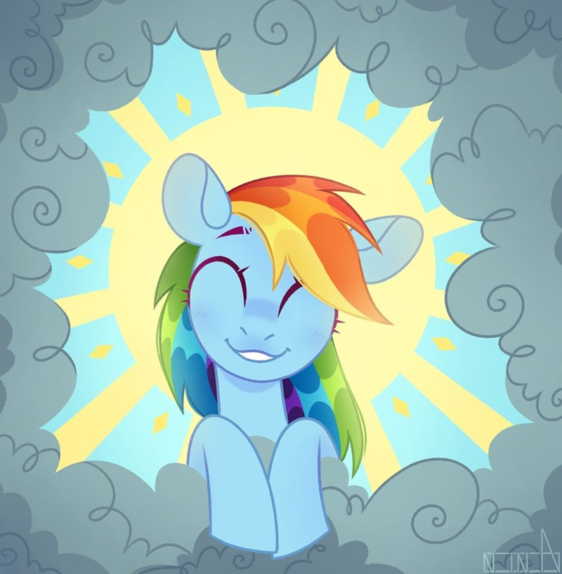the ticket master n in a rainbow dash - 9519564032