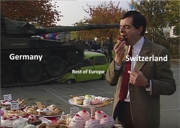 Selling - Germany Świtzerland Rest of Europe