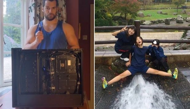 Henry Cavill Building A PC Has Twitter Thirsting Hardcore