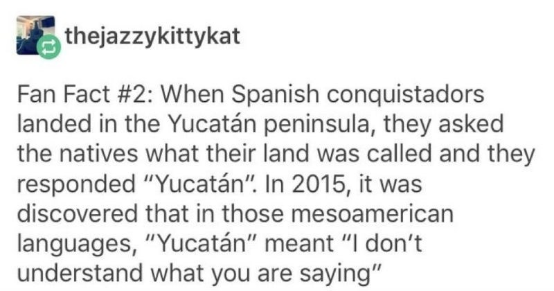 Funny and interesting observations on languages.